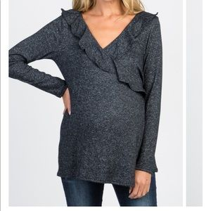 Pinkblush wrap sweater, maternity or non-maternity